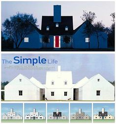 The Hugh Newell Jacobsen Dream House was featured in Life magazine in 1998 The Simple Life, Trendy Home Decor, Famous Architects, Dream House Plans, Dream Houses, Local Real Estate, Architect Design, Life Magazine, 3d Printer