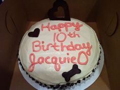 Pretty cake or Jacquie!