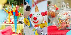 Festa kids: Decoração festa infantil tema Circo - Encantada