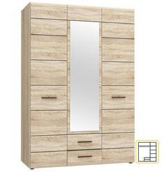 Trojdverová šatníková skriňa SOLO má na stredných dvierkach umiestnené efektné zrkadlo.  Vo vnútry ponúka poličky aj závesnú tyč. Prvky sektoru SOLO sú vyrobené v stále žiadanej farbe dub sonoma. #byvanie #domov #nabytok #skrine #klasickeskrine #modernynabytok #designfurniture #furniture #nabytokabyvanie #nabytokshop #nabytokainterier #byvaniesnov #byvajsnami #domovvashozivota #dizajn #interier #inspiracia #living #design #interiordesign #inšpirácia Furniture, Home Decor, Decoration Home, Room Decor, Home Furnishings, Home Interior Design, Home Decoration, Interior Design, Arredamento