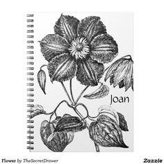 Flower Note Books