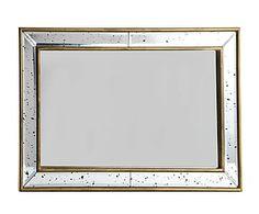 Spiegel Lieke, goud, 27x22 cm