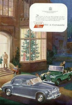 Old Land Rover/Rover Advertising