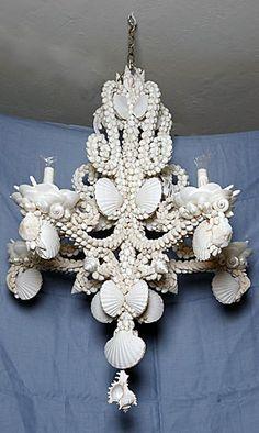 FL Seashell Lamps | Chandeliers | Seashell Lighting Fixtures