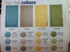Use-anywhere paint colors (HGTV Magazine)