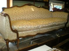 (9112) French Carved Sofa $399