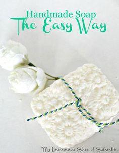 Make Handmade Soap the easy way