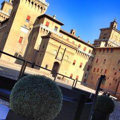 Annunziata's dehors & Estense castle