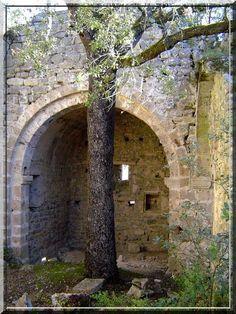 Le château fort de Brue dans le Var est une ruine perdue sur une colline très boisée. Ce vestige médiéval possède des pans d'architecture de plusieurs siècles. Le touriste courageux acceptant d'entrer en ce lieu découvrira une église seigneuriale, une citerne, des remparts défensifs, un logis confortable etc....