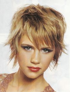 shaggy short haircuts for thick hair - Google Search   Hairstyles ...