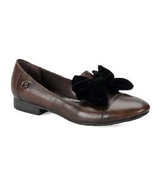 Born Regina Burnished Leather Smoking Slippers | Dillard's Mobile
