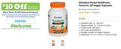 Himalaya Herbal Healthcare, Turmeric, 60 Veggie Capsules   http://iherb.com/Himalaya-Herbal-Healthcare-Turmeric-60-Veggie-Capsules/3744