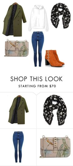 """Love style"" by phamthuquynh on Polyvore featuring mode, Alexander McQueen, Topshop, Valentino et Chloé"