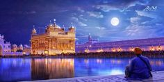 Beautiful view of The Golden Temple