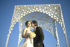"""If you are Jewish or Jew-""""ish"""" you probably know that a Jewish wedding ceremony is performed underneath a chuppah, a Jewish marriage canopy. In Hebrew the word """"chuppah""""…"""