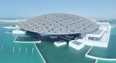See the Incredibly Complex Louvre Abu Dhabi Constructed Over 8 Years in This Timelapse Architecture Antique, Architecture Design, Louvre Abu Dhabi, Dome Structure, Dubai Tour, Top Tours, Burj Al Arab, Visit Dubai, Dubai City