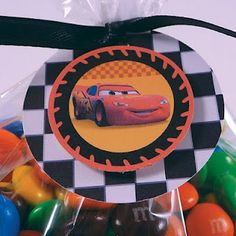 Race Car Party: Caleb's Disney Cars 3rd Birthday Party | Belly Feathers :: Handmade Party Ideas Blog by Betsy Pruitt