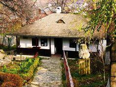 Bojdeuca lui Ion Creangă Tourist Places, Romania, Gazebo, Outdoor Structures, Traditional, Country, House Styles, Plants, Travel