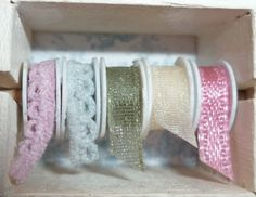 how to: miniature ribbon rolls