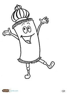 simchat torah coloring pages - hanukkah coloring pages menorahs this is not the