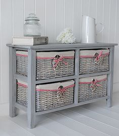 Side view of grey St Ives storage furniture Basement Furniture, Cottage Furniture, White Bedroom Furniture, Country Furniture, Apartment Furniture, Shabby Chic Furniture, Cheap Furniture, Pallet Furniture, Furniture Makeover
