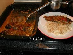 Tilapia Au Four Par Vénicia Guinot Tilapia, Saveur, Four, Beef, Tropical Kitchen, Fish, Food, Recipe, Meat