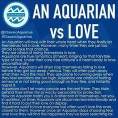Aquarian Love - me to a tee Astrology Aquarius, Aquarius Traits, Aquarius Quotes, Aquarius Woman, Zodiac Signs Aquarius, Age Of Aquarius, My Zodiac Sign, Pisces, Aquarius Lover
