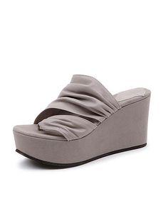 8bafd4ea95d Dusica Sacks - Cama Leather Slip Wedge Thong Love these!
