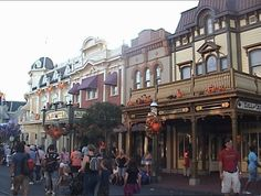 Main Street in the Magic Kingdom is decorated for Halloween!  Join in the party as different parts of the Magic Kingdom celebrate the holiday with fun activities for kids of all ages.  Check out the Halloween Parade, and Disney Villains get in on the fun with Happy HalloWishes, a specially-themed fireworks show at Cinderella's Castle.