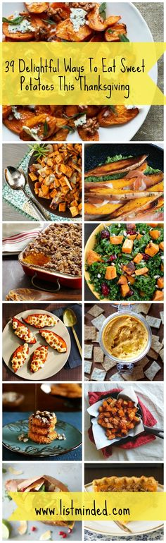 39 Delightful Ways To Eat Sweet Potatoes This Thanksgiving #recipe #thanksgiving http://www.taiminh.com/ http://news.taiminh.com/