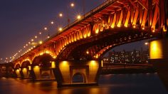 The bridge panaromas.