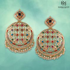Picture from Balkishan Dass Jain Jewellers Photo Gallery on WedMeGood. Browse more such photos & get inspiration for your wedding Plan Your Wedding, Wedding Blog, Wedding Planner, Jewelery, Crochet Earrings, Wedding Inspiration, Bangles, Drop Earrings, Chandigarh