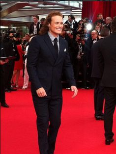 LQ/MQ pics of Sam Heughan at The Monte Carlo Festival of Television | Outlander Online