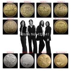 Beatles Band design coins