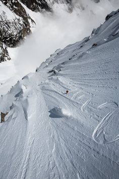 Andreas Fransson in Chamonix - RIP the world lost a great skier