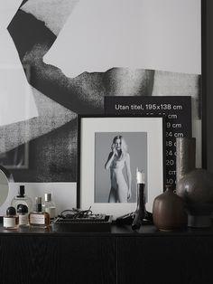 vosgesparis: A Scandinavian home in grey tones by Lotta Agaton