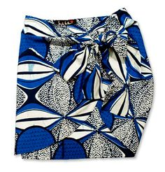 Indego Africa Wrap Skirt by Nicole Miller
