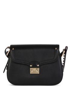 VALENTINO Rockstud Leather Shoulder Bag. #valentino #bags #shoulder bags #leather #