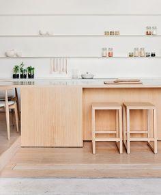 Interior Styling | White + Wood