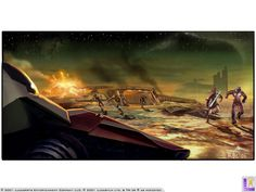 Star Wars: Jedi Starfighter (Concept Art) | The International House of Mojo