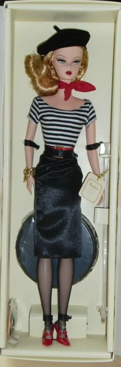 Details zu 2008 The Artist Silkstone Barbie NRFB