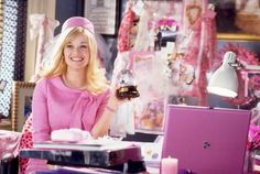 I love the unwavering positivity, determination and unashamed femininity of Elle Woods!