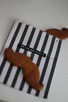 Movember gingerbread