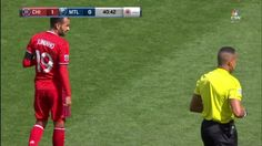 #MLS  YELLOW CARD: Juninho is carded for foul