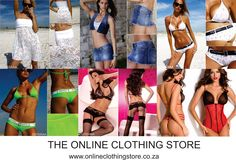 The Online Clothing Shop - visit us for hot new imports - onlineclothingshop.co.za Online Shopping Clothes, Bikinis, Swimwear, Italy, Lingerie, Awesome, Beach, Hot, Clothing
