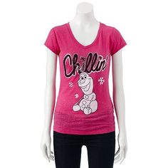 Disney Frozen Olaf ''Chillin''' Tee - Juniors