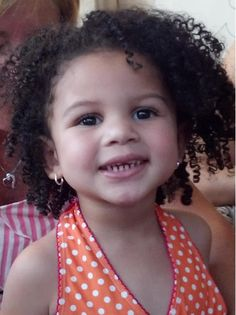 natural - napturaly beautiful ;) love those curls #curls #mixed #children #beautiful