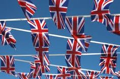 Jubilee...just love all the flags out at the moment!
