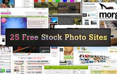 25 Websites to Download Free Stock Photo for Your Projects