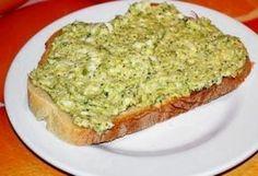 Brokkolikrém Diabetic Recipes, Diet Recipes, Vegetarian Recipes, Cooking Recipes, Healthy Recipes, Cold Dishes, Sandwich Spread, Pasta, Avocado Toast
